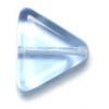 Glass Bead Triangle 11x13mm Light Sapphire - Strung
